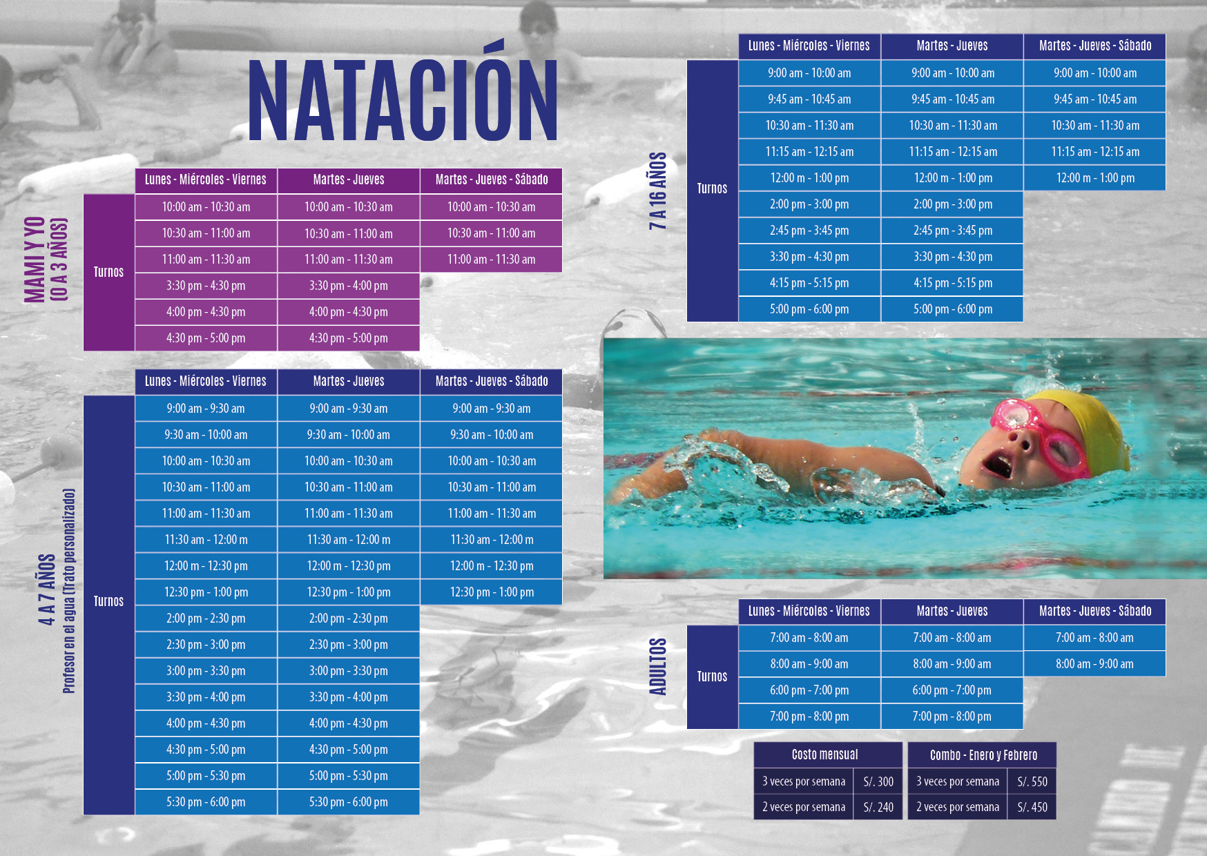 DEPORTES - natacion