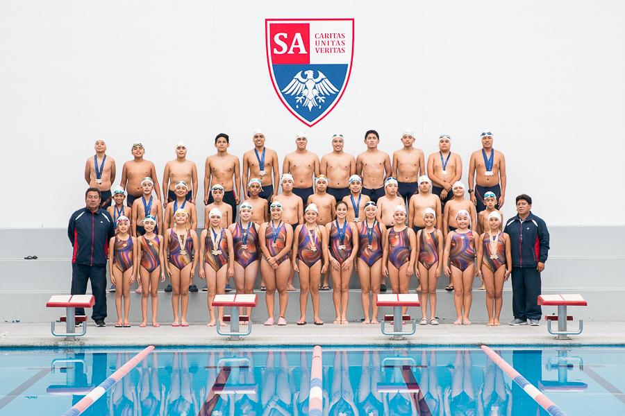 ¡Somos campeones olímpicos en natación!