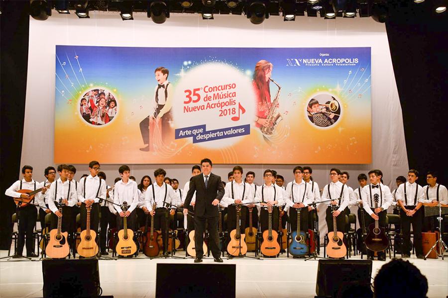 35° Concurso de Música Nueva Acrópolis 2018