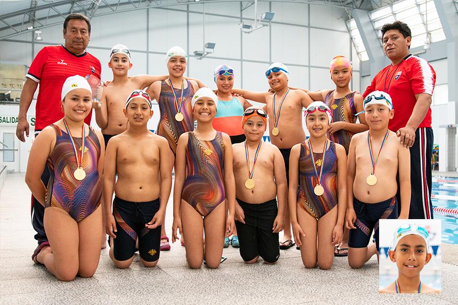 ¡Somos campeones de natación en Cusco!