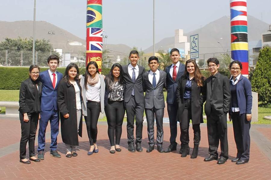 Participación del IV Modelo de Naciones Unidas (MUN) USMP
