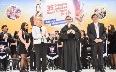"Nuestra Concert Band ganó el ""Concurso de música Nueva Acrópolis"""