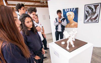 Exposición de Artes Visuales 2018 de IB