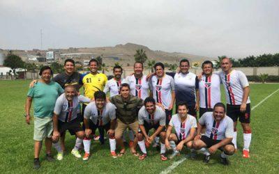 5ta fecha del campeonato de confraternidad de fútbol
