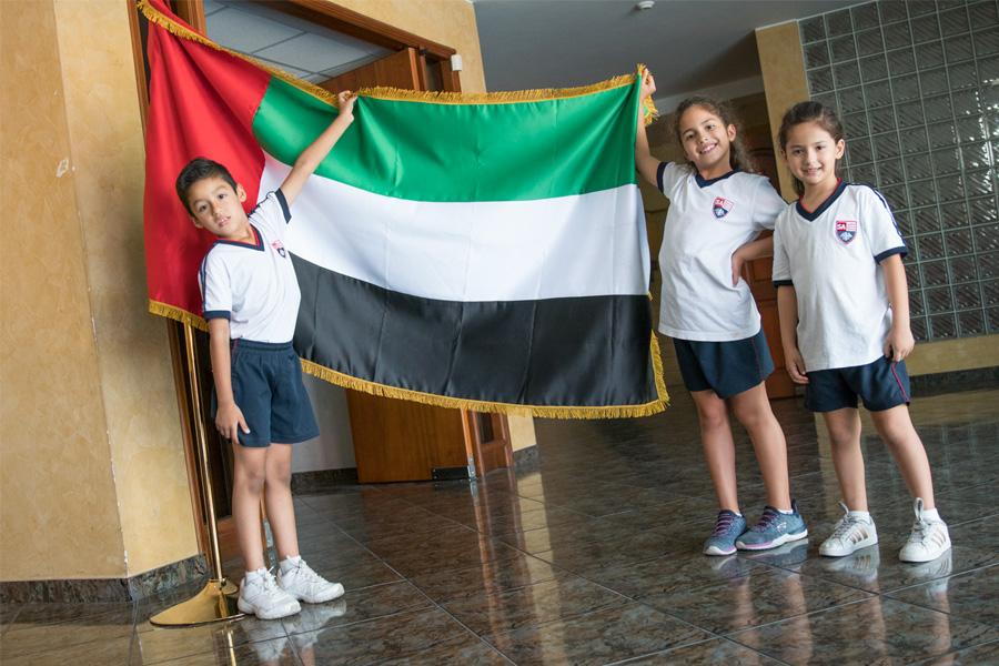 ¡Nos visitaron nuestros amigos de Emiratos Árabes Unidos!