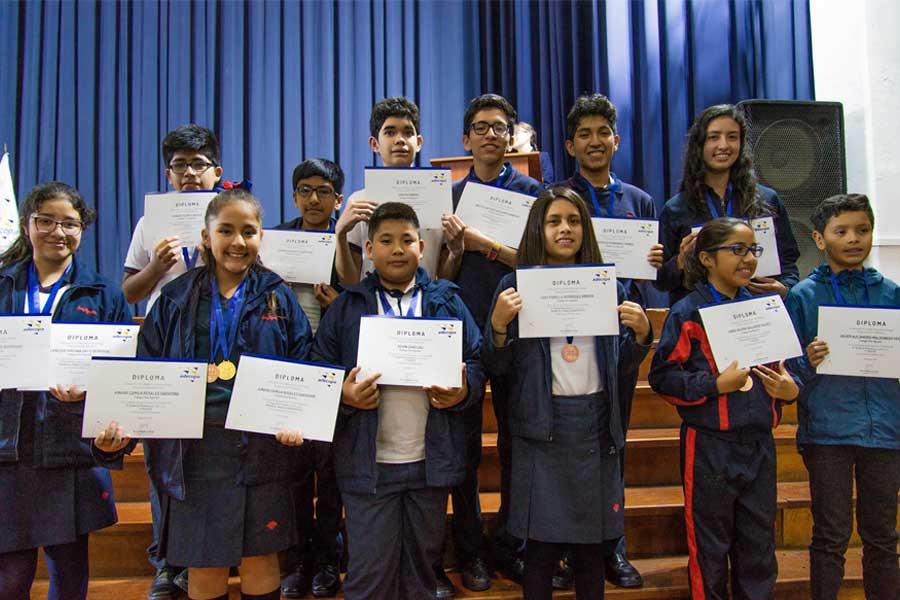 Premiación del Festival de Matemática Adecopa