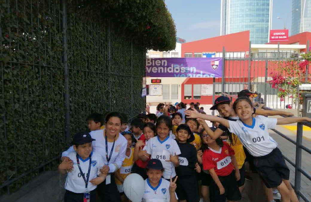 Participamos en una Mini Maratón