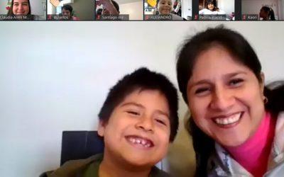 Visita de los padres de familia a nuestras clases